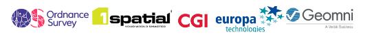 GeoCymru20 Sponsor Logos